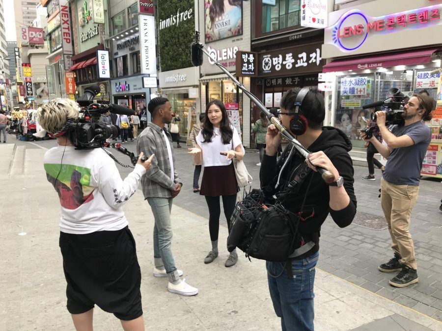 Lee Adams, the host and producer of VICE Minority Reports, is interviewing an individual for his show. This show is a documentary about underrepresented individuals in unexpected places.