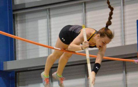 Mikayla Marvin has broken the WSC women's pole vault record five different times this season.