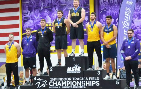 Track and field has successful weekend at NSIC Indoor Conference meet