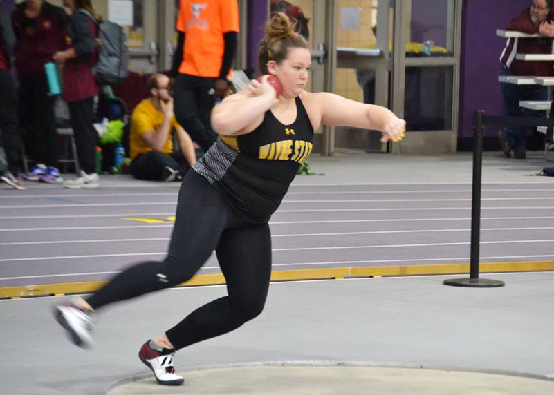 McKenzie+Scheil+is+a+redshirt+freshman+who+throws+for+the+Wildcats.+She+finished+15th+overall+out+of+17+qualified+throwers+that+competed+at+the+NCAA+Division+II+Indoor+Track+and+Field+Championships+in+Pittsburg%2C+Kansas.