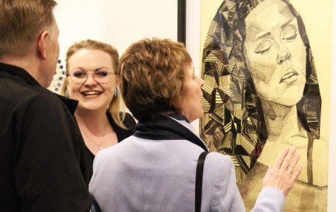 Seven seniors display work in senior art show