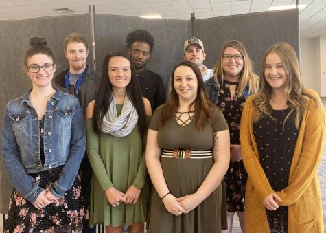 Featured artists visit student exhibit