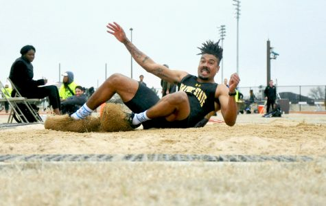 Track and field team successful in Kansas