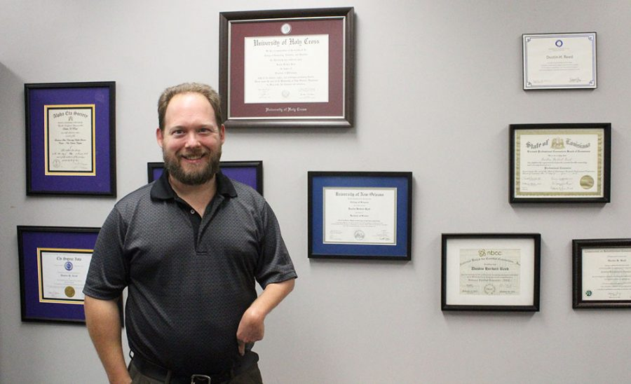 Dr. Dustin Reed is among the 11 new professors this year at Wayne State.