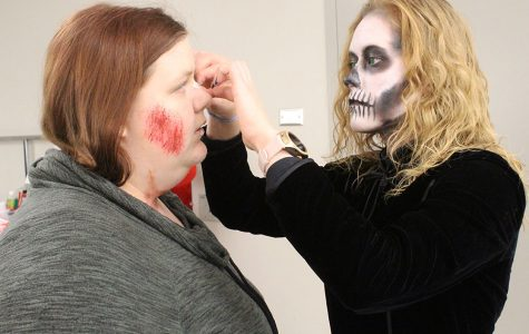 Students get spooky at Haunted Trail