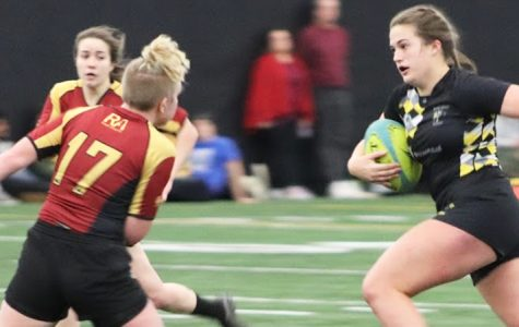 Women's rugby defeats Notre Dame 61-0 in DI tourney