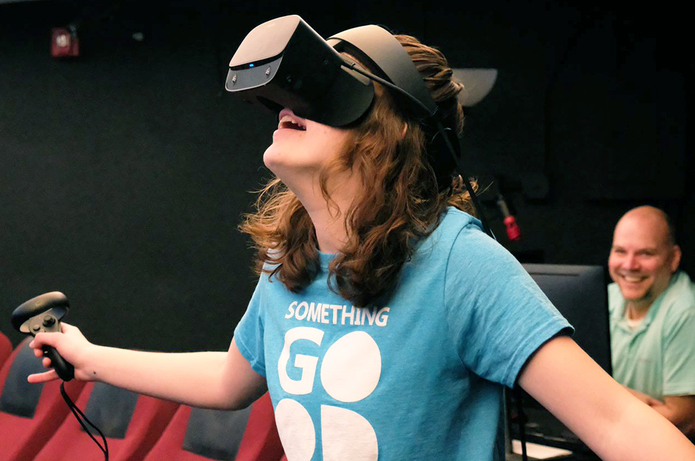 VR allows for new education opportunities