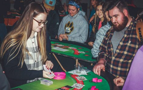 WSC students win big at annual Casino Night