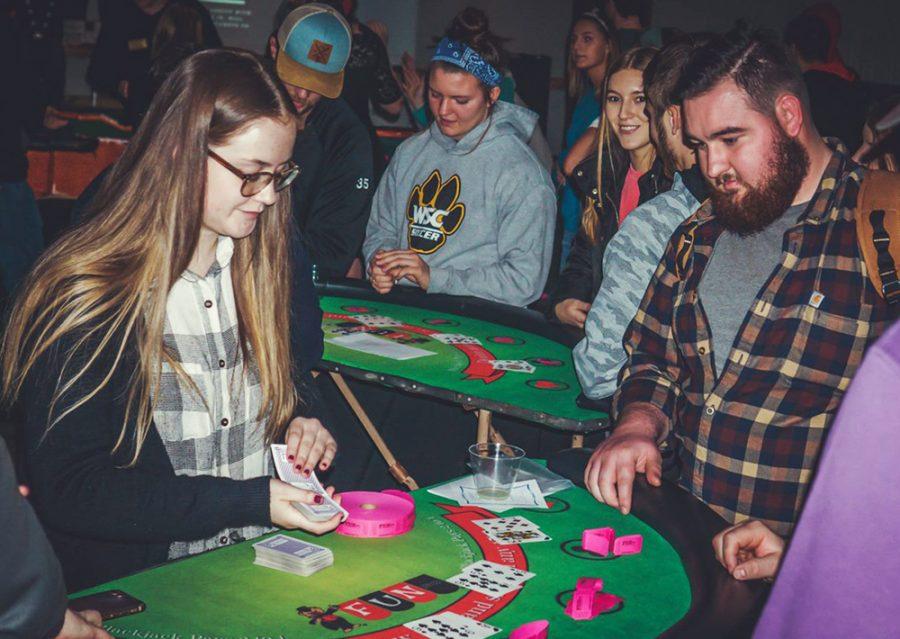 WSC students win big at annual Casino Night