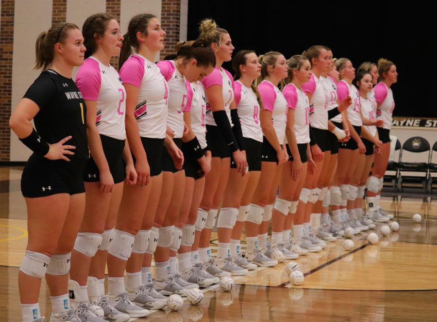 WSC Volleyball wins against Northern State 3-0