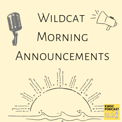 Wildcat Morning Announcements is a podcast hosted by Callie Hurley.