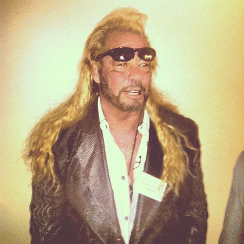 Dog the Bounty Hunter appears in NM House of Representatives to support a bill establishing minimum requirements for bounty hunters by Robotclaw666 is licensed with CC BY 2.0. To view a copy of this license, visit https://creativecommons.org/licenses/by/2.0/